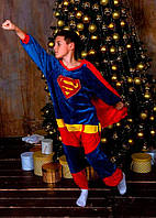Костюм Кигуруми Супермен для мальчика Kigurumi Onesie