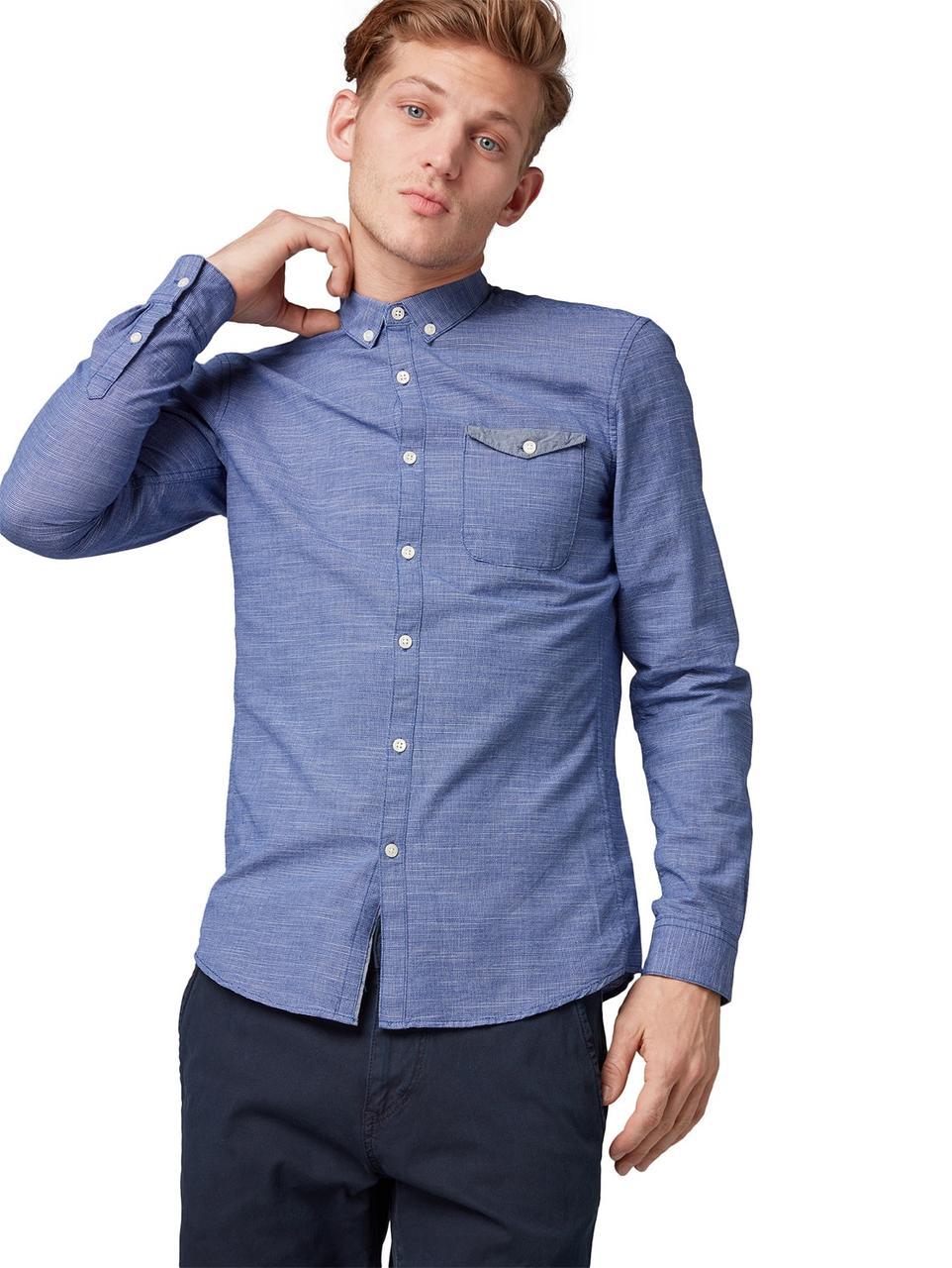 Рубашка Tom Tailor 1009166 L Синий