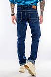 Мужские джинсы длинный рост FRANCO BENUSSI 21-509 темно-синие, фото 8