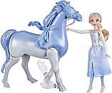 Набор Холодное Сердце 2 Кукла Эльза и Интерактивный Конь Нокк ХОДИТ и ПЛАВАЕТ Elsa and Swim and Walk Nokk, фото 6