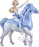 Набор Холодное Сердце 2 Кукла Эльза и Интерактивный Конь Нокк ХОДИТ и ПЛАВАЕТ Elsa and Swim and Walk Nokk, фото 5