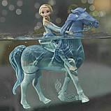 Набор Холодное Сердце 2 Кукла Эльза и Интерактивный Конь Нокк ХОДИТ и ПЛАВАЕТ Elsa and Swim and Walk Nokk, фото 4