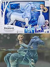 Набор Холодное Сердце 2 КуклаЭльза и Интерактивный Конь Нокк ХОДИТ и ПЛАВАЕТ Elsa and Swim and Walk Nokk