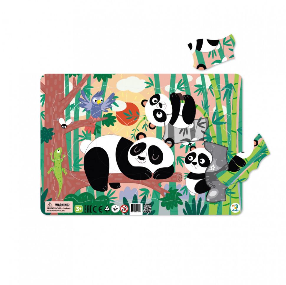 """Пазл с рамкой DoDo """"Панды"""" R300222"""