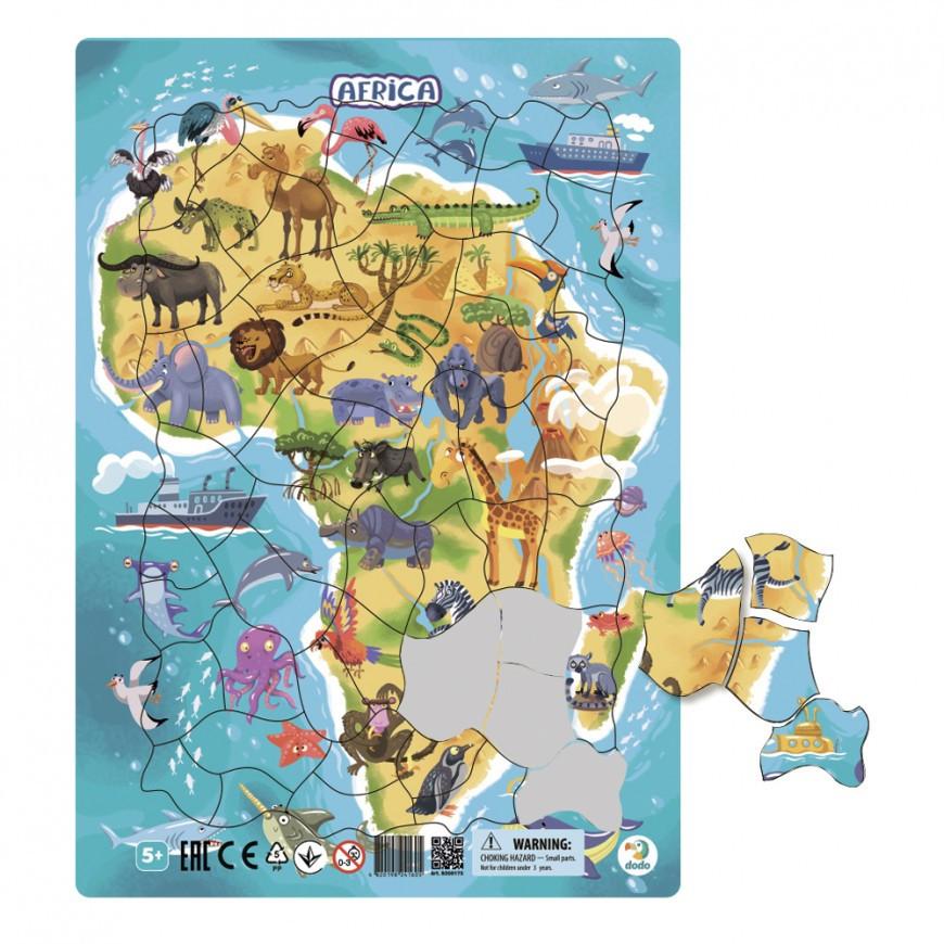 "Пазл DoDo в рамке ""Африка"" R300175"