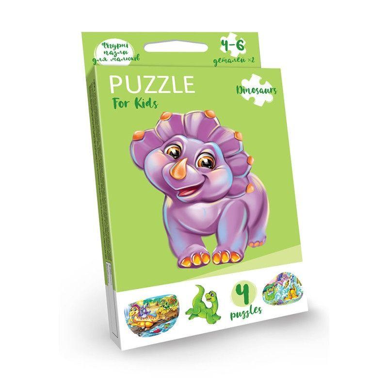 "Развивающие пазлы ""Puzzle For Kids"" PFK-05-12 (Дино)"
