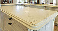 Кухонная столешница из мрамора Россо Перлино (Rosso Perlino)