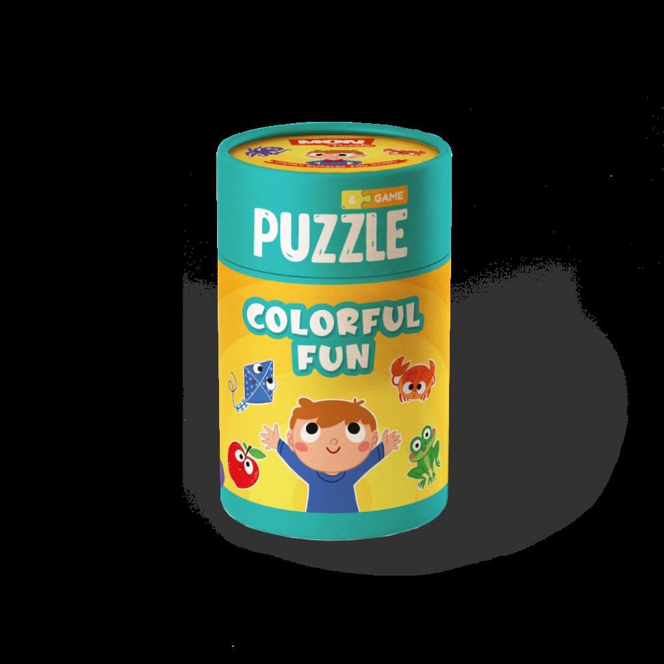 """Пазл и игра Mon Puzzle """"Цветные развлечения"""" 200105"""