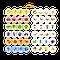 """Пазл и игра Mon Puzzle """"Цветные развлечения"""" 200105, фото 2"""