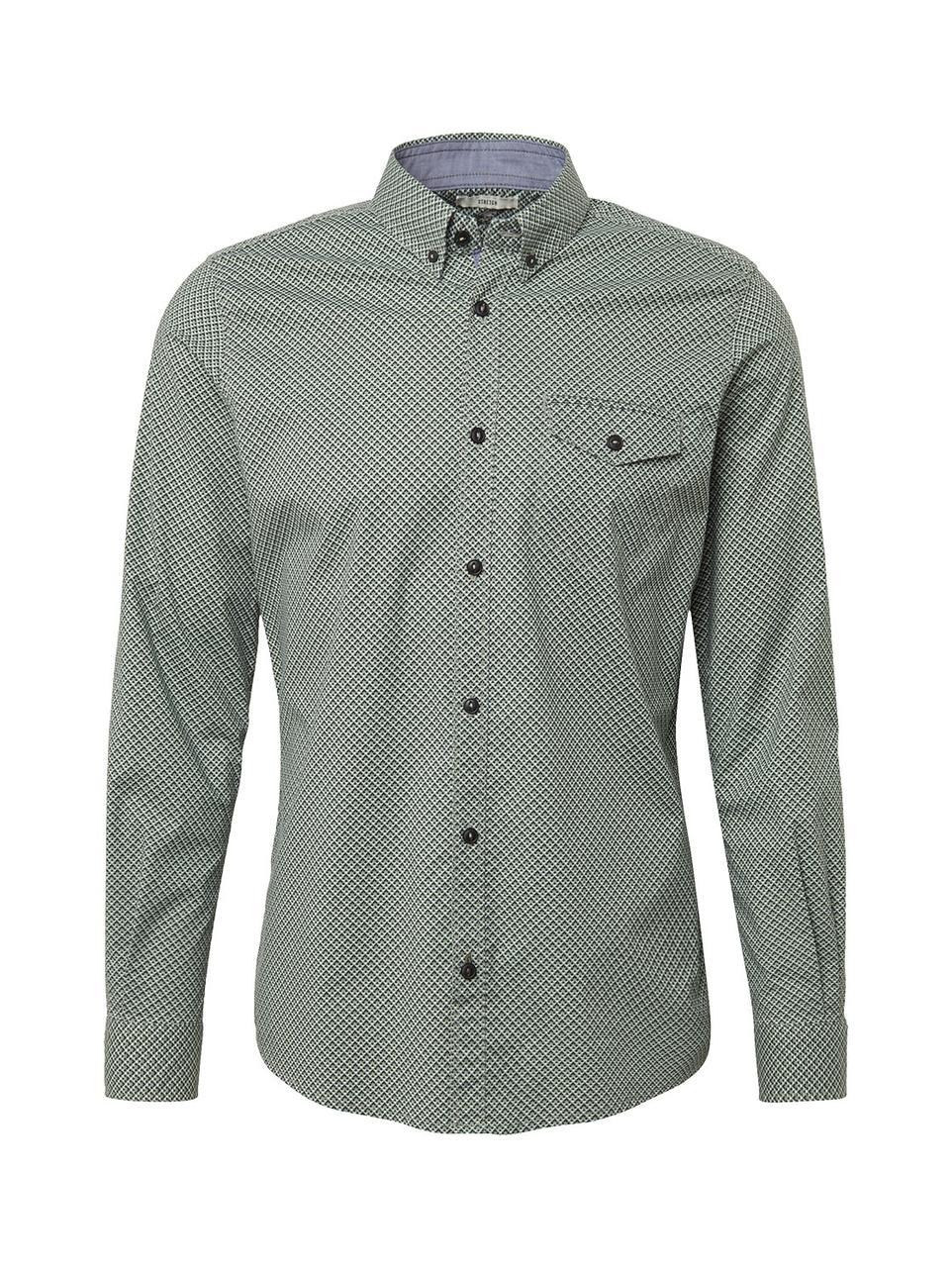 Рубашка Tom Tailor 1008552 S Зелёный
