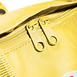 Женский рюкзак-сумка канкен Fjallraven Kanken classic желтый, фото 6