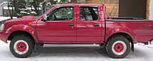 Дефлектори вікон Nissan Navara (D22) 2001-2005 | Вітровики Ніссан Навару
