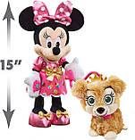 Набор Интерактивные Минни Маус и собачка Disney Junior Minnie's Party & Play Puppy Оригинал из США, фото 4