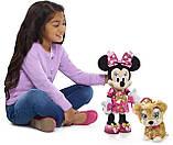Набор Интерактивные Минни Маус и собачка Disney Junior Minnie's Party & Play Puppy Оригинал из США, фото 5