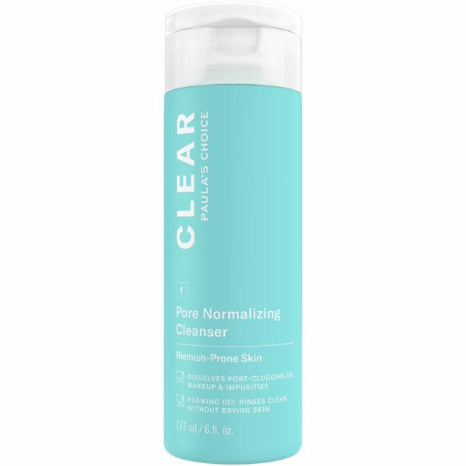 Гель для умывания с салициловой кислотой 0.5 % Paula's Choice CLEAR Pore Normalizing Cleanser 177 мл
