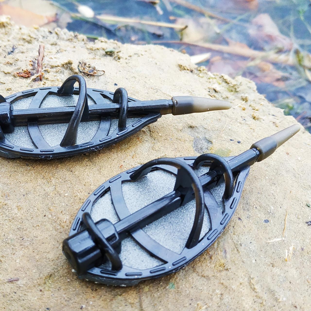"""Рыболовная кормушка  CARP EXPERT Метод """"Flat Feeder XL """", вес 100 грамм"""