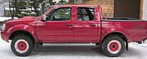 Дефлектори вікон Nissan NP300 (D22) 2008 | Вітровики Ніссан НП300