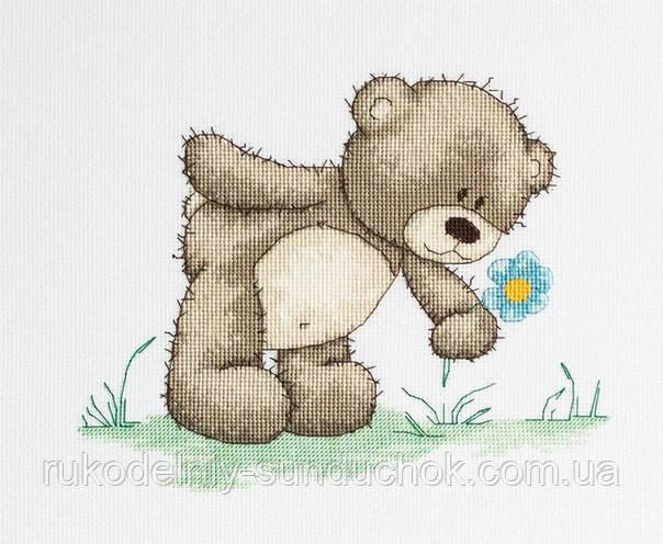 Набор для вышивки крестом Luca-S B1018 Медвежонок Бруно