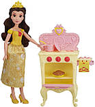 Набір Лялька Белль і Королівська кухня Princess Belle's Royal Kitchen, Hasbro Оригінал з США, фото 6