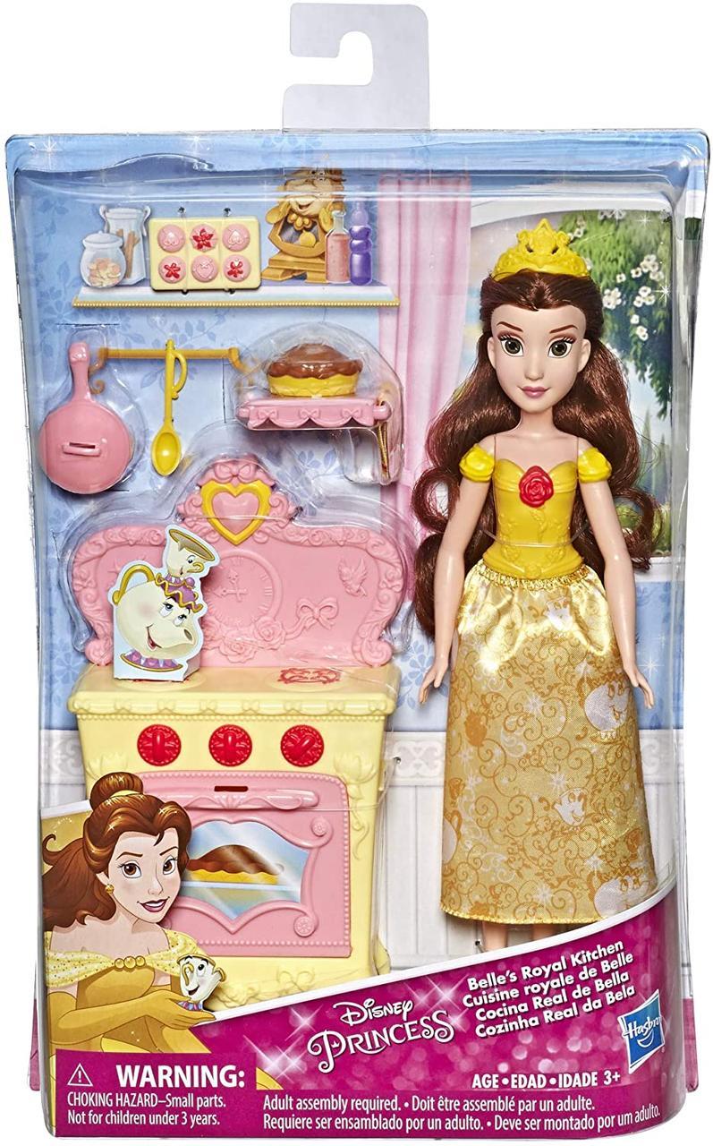 Набір Лялька Белль і Королівська кухня Princess Belle's Royal Kitchen, Hasbro Оригінал з США
