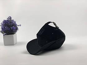 Кепка Бейсболка Мужская Женская Polo Ralph Lauren с кожаным ремешком Черная с Красным лого, фото 3