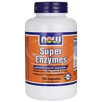 Super Enzymes, Энзимы для пищеварения 180 капсул