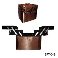 Cумка для транспортировки принадлежностей мастеров (кофейная) Lady Victory LDV BPT-04В /5-72