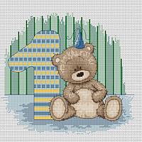 Набор для вышивки крестом Luca-S B1087 Медвежонок Бруно