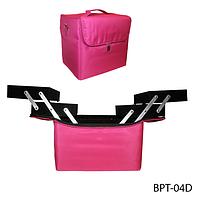 Профессиональная сумка для визажистов, мастеров маникюра (фиолетовая) Lady Victory LDV BPT-04D /05-72