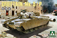 Сборная модель Британского танка Chieftain Mk.5/P 2 in 1 1/35