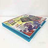 Художественный набор чемодан для творчества 150 предметов. Цвет: голубой, фото 4