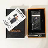 Зажигалка спиральная USB TH-705 2IN1 Газ + USB, фото 7