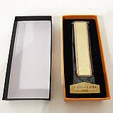 Зажигалка спиральная USB ZGP-1. Цвет: золотой, фото 3