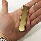 Зажигалка спиральная USB ZGP-1. Цвет: золотой, фото 6