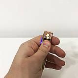 Зажигалка спиральная USB ZGP-1. Цвет: золотой, фото 7