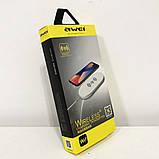 Беспроводное зарядное устройство Awei W2. Цвет: белый, фото 6