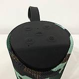 Колонка портативная bluetooth влагостойкая JBL TG-113 (аналог). Цвет: камуфляж, фото 2