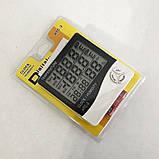Термометр-гигрометр HTC-2 с часами и выносным датчиком температуры, фото 6