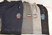 Шорты мужские трикотажные с молниями на карманах синие 4XL ( Венгрия ) - Брак (Товар с витрины), фото 2