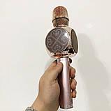 Беспроводной Bluetooth Микрофон для Караоке Микрофон DM Karaoke Y 63 + BT. Цвет: розовый, фото 4