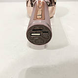 Беспроводной Bluetooth Микрофон для Караоке Микрофон DM Karaoke Y 63 + BT. Цвет: розовый, фото 5