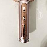 Беспроводной Bluetooth Микрофон для Караоке Микрофон DM Karaoke Y 63 + BT. Цвет: розовый, фото 6