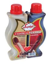 Тахин  и пекмез    (кунжутная паста c виноградным сиропом) пластик