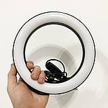Кольцевая лампа 20 см (USB, 8Вт, 3200-5500К), фото 4