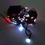 Гирлянда-нить String-Lights внутренняя разноцветная (пров.:черный; 7м) (100М-3), фото 2