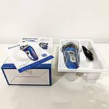 Электробритва GEEMY GM-7090 3 в 1 триммер. Цвет: синий, фото 6