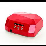 Сушилка для ногтей UV LAMP CCF+LED. Цвет: красный, фото 3