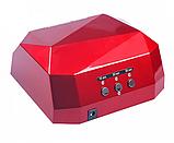 Сушилка для ногтей UV LAMP CCF+LED. Цвет: красный, фото 4