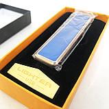 Зажигалка спиральная USB ZGP-1. Цвет: синий, фото 5
