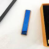 Зажигалка спиральная USB ZGP-1. Цвет: синий, фото 6
